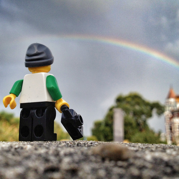 The Lego Photographer