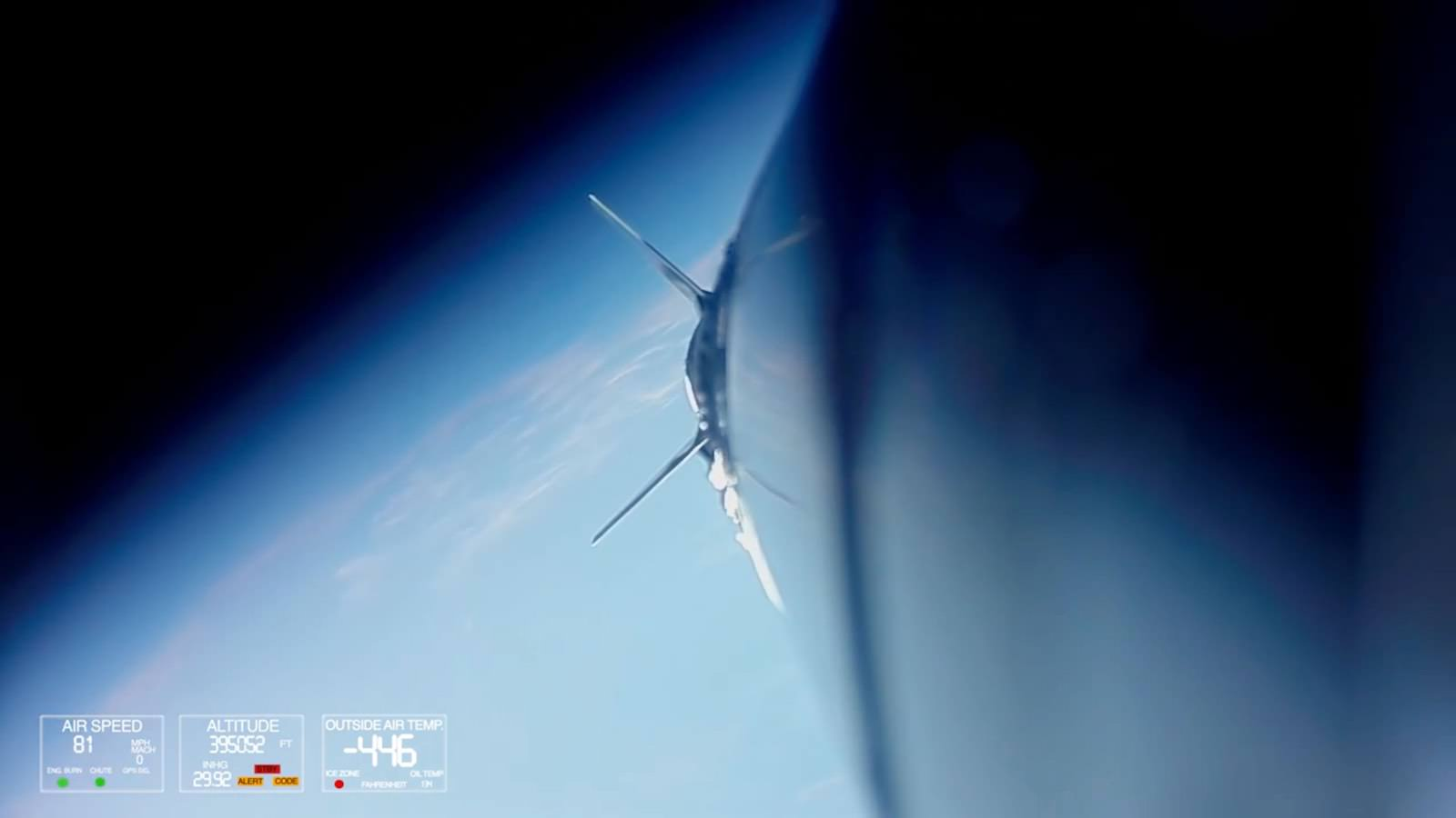 GoPro Mach 5 : On A Rocket To Outer Space