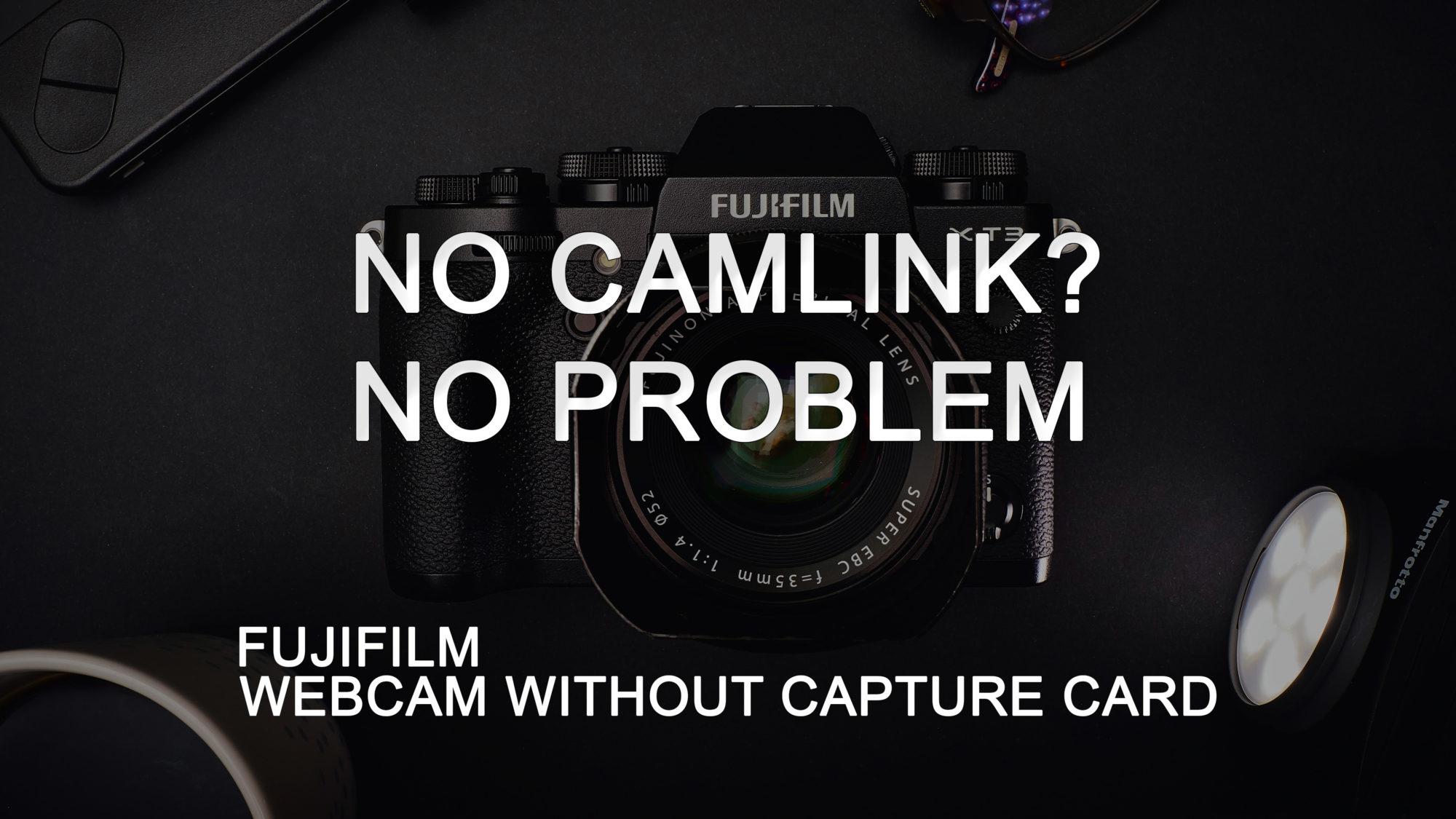 Use your Fuji camera as a webcam without a Capture Card on Mac OS
