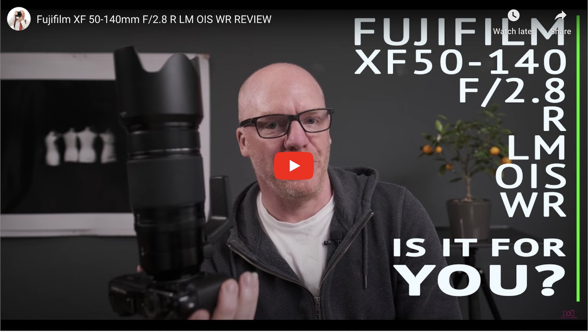 Fujifilm XF 50-140mm F/2.8 R LM OIS WR Review